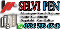 Alüminyum Plastik Doğrama Panjur Stor Sineklik Duşakabin Cam Balkon